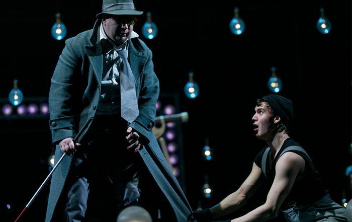 ТВ Санкт-Петербург на репетиции спектакля «Кто боится Вирджинии Вулф?»